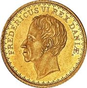 2 Frederiks d'Or - Frederik VI (Type 1) – avers