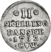 II skilling – revers