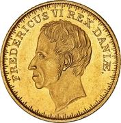 2 Frederiks d'Or  - Frederik VI – avers