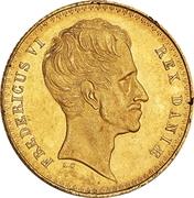 2 Frederiks d'Or - Frederik VI (Type 3) – avers