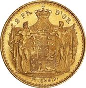 2 Frederiks d'Or - Frederik VI (Type 3) – revers