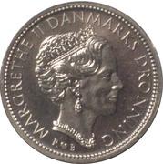 10 kroner - Margrethe II (1ere effigie) -  avers