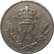 10 øre - Frederik IX -  avers