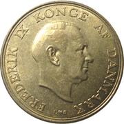 1 krone - Frederik IX -  avers