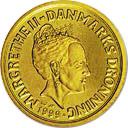 20 kroner - Margrethe II (3eme effigie - 1e armoirie) -  avers