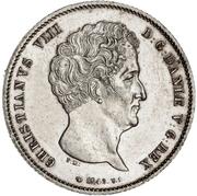 1 Rigsbankdaler  - Christian VIII – avers