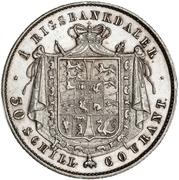 1 Rigsbankdaler  - Christian VIII – revers