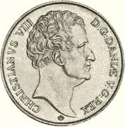 1 speciedaler - Christian VIII – avers