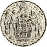1 speciedaler - Christian VIII – revers
