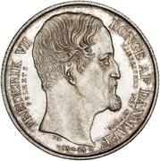 1 Speciedaler - Frederik VII – avers