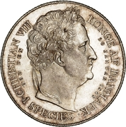 1 Speciedaler - Frederik VII – revers