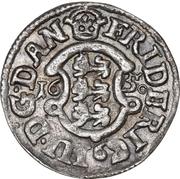 2 Skilling Dansk - Fredrik III – avers