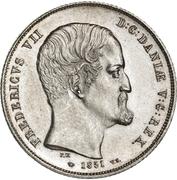 1 Rigsbankdaler - Frederik VII – avers