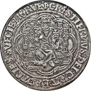 1 Sølvgylden - Christian II (Malmo Mint) – avers