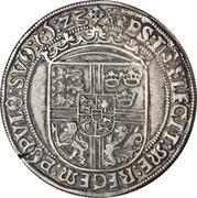 1 Sølvgylden - Christian II (Malmo Mint) – revers