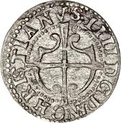 1 hvid - Christian IV – avers