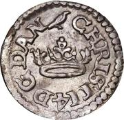 2 Skilling Dansk - Christian IV – avers