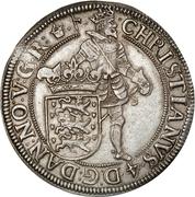 1 Speciedaler - Christian IV – avers