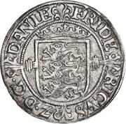 2 Skilling - Frederik II (Copenhagen mint; type 1) – avers