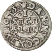 1 Søsling Lybsk - Christian IV – revers