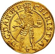 1 Dukat - Christian IV (Hebræermønt) – avers