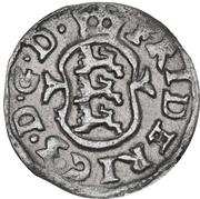 1 Skilling Dansk - Frederik III (Type 3) – avers