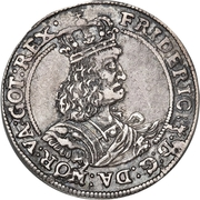 ⅛ Reichs Daler - Frederik III – avers