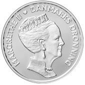 500 kroner (Anniversaire de la reine Margrethe II) – avers