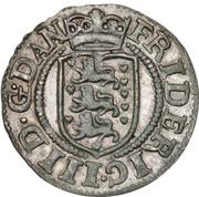 2 Skilling Dansk - Frederick III – avers