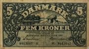 5 Kroner – avers