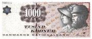 1000 Kroner – avers