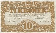 10 Kroner (Heilmann type I) – avers