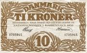 10 Kroner (Heilmann Type II) – avers