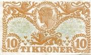 10 Kroner (Heilmann Type II) – revers