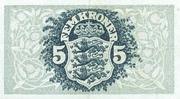 5 Kroner (Heilmann typeII) – revers