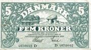 5 Kroner (Heilmann Type II) – avers