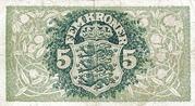 5 Kroner (Heilmann Type II) – revers