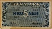 5 Kroner (Exchange Notes) – avers