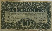 10 Kroner (Exchange Note Type 2) – avers