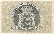 50 Kroner (Heilmann type III) – revers