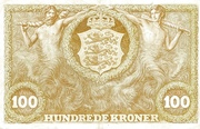 100 Kroner (Heilmann type II) – revers