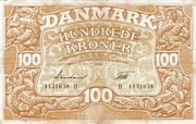 100 Kroner (Heilmann type III) – avers