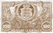 100 Kroner (Heilmann type III) – revers