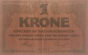 1 Krone -  avers