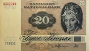 20 Kroner – avers