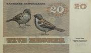 20 Kroner – revers