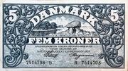 5 Kroner (Heilmann typeII) – avers