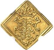 1 Ducat - Frederik II (Den Nordiske Syvårskrig-Klippe) – avers