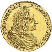 1/2 Ducat - Friedrich IV – avers