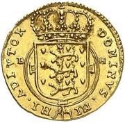 1/2 Ducat - Friedrich IV – revers